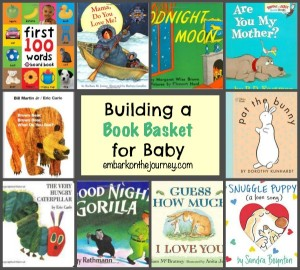 Creating a Book Basket for Babies