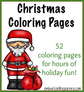 Christmas Coloring Pages   embarkonthejourney.com