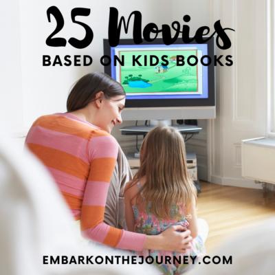 25 More Kids Movies Based on Books