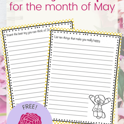 Elementary Writing Prompts for May