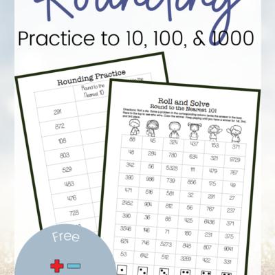 Practice Rounding Numbers