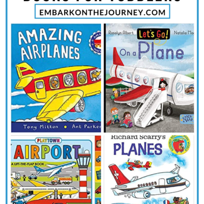 Airplane Books for Toddlers